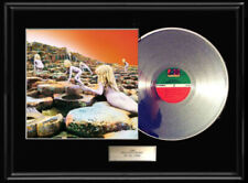 LED ZEPPELIN HOUSES OF THE HOLY ALBUM WHITE GOLD SILVER PLATINUM TONE RECORD LP