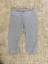 Tea Collection Leggings black/white Stripe 12-18 Month Baby Girl