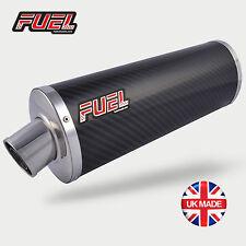 RSV1000 Tuono 02-05 Classic Carbon Fibre Oval Midi UK Road Legal Race Muffler