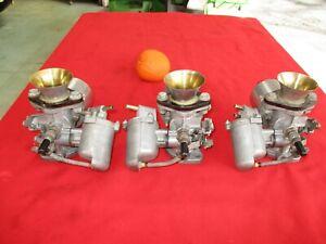 Vintage Austin Healey 100 3000 Factory Orig Race Prepared Triple HS4 SU Carbs