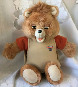 Vintage Teddy Ruxpin Bear ~ 1985 Worlds of Wonder ~ Bear Only ~ Untested