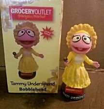 "GROCERY OUTLET BARGAIN MARKET "" LIMITED EDITION"" TAMMY UNDER SPEND BOBBLE HEAD"