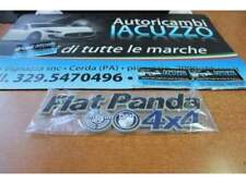TARGHETTA POSTERIORE SCRITTA FIAT PANDA 4X4 FINO AL 2003 BLU