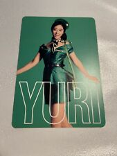 Snsd Yuri Girls & Peace japan 2nd Tour Official  Photocard Card Kpop K-pop