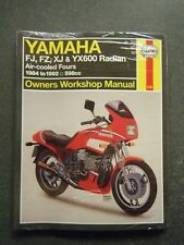 Hayes Workshop Manual Yamaha FJ/FZ/XJ&YX600 Radian 19984-92