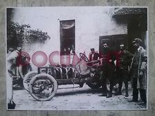 DARRACQ DEMOGEOT 1907 Brescia Coppa della Velocita document photo clipping