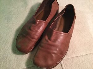 Mens Loafers Super Soft Tan Leather Slip On Russell & Bromley Size Uk 10 Used