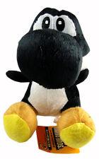"Nintendo Super Mario Brothers Bros Black Yoshi 7"" Stuffed Toy Soft Plush Doll"