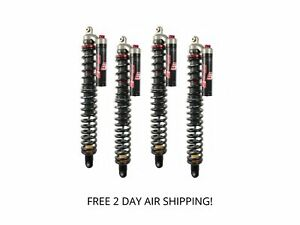 Elka Stage 3 Front and Rear Shocks Suspension Kit Arctic Cat Wildcat 1000
