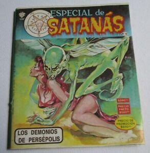 '89 TERROR comic HORROR sexy WOMEN danger EVIL SATANAS dead MYSTERY PERSEPOLIS