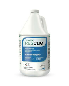 New Rescue One-Step Disinfectant Cleaner & Deodorizer Concentrate 1 Gallon