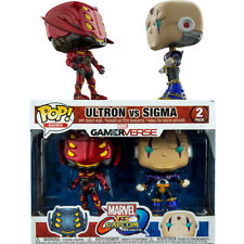 Marvel Vs. Capcom Ultron Red and Black vs Sigma Purple Pop! Vinyl Figure 2-Pack