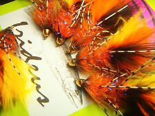 Irideus Deep End Leggy Streamer Fly Fishing  Steelhead flies Trout Fly Fishing