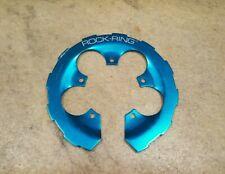 Retro Girvin Rock Ring Blue Ano Bash Guard 110 BCD Old School Mountain Biking
