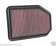 KN AIR FILTER REPLACEMENT FOR JEEP WRANGLER L4-2.8L DSL; 2007-2015