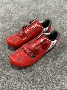 Bontrager XXX Cycling Road Shoes, Red/white, US10.5/EU43.5