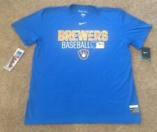 Milwaukee Brewers Training Shirt Men XL Nike L@@k
