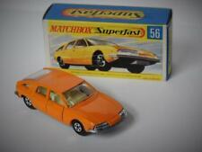 MATCHBOX LESNEY SUPERFAST BMC 1800 PININFARINA #56 MINT IN G2 BOX NARROW WHEELS