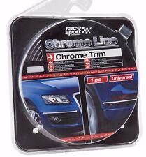 Sumex Interior & Exterior Self Adhesive Chrome Car Styling Trim Strip (8M x 7mm)