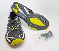 NEW BALANCE Boys 7 Women 8.5 BLACK SILVER Cross XC Spikes Shoes Sneaker RX240CX