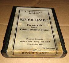 RIVER RAID !  FOR ATARI 2600 + 7800 ! TESTED !