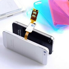 Dual Sim Adapter Set for iPhone, Switch 2 Sim Cards in 1 Phone Dual Sims Single