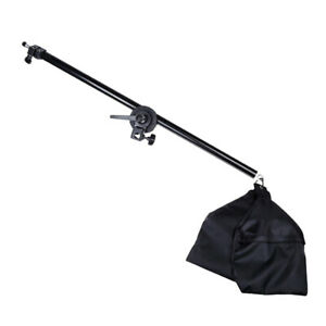 Impact Adjustable Tripod Boom Arm for Light Stand with Sandbag and Extends to 55