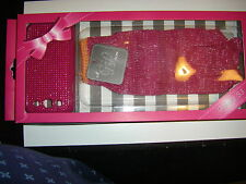 Knit Gloves Pink & Silver Galaxy S3 Phone Cover New In Box