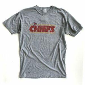 Kansas City Chiefs FOOTBALL NFL short sleeve T-Shirt vintage men S-3XL TK0942