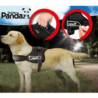 UNHO Escape-Proof Nylon Padded Dog Harness Vest - Extra Large Medium Service Dog