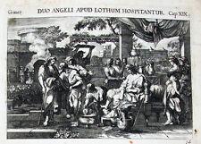 1679 Bibbia BIBLIA Genesis lot Sodoma RAME Küsel chiave