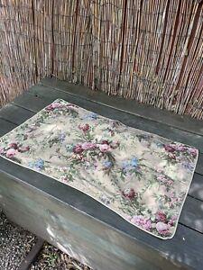 Vintage Ralph Lauren Adriana Floral King Shams One Pair