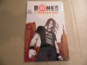 Bone Rest #1 + Rare #1 2nd Print (Image 2005) Free Domestic Shipping