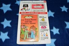 TOWN MOUSE COUNTRY Pickwick Ladybird Tell A Tale Story Cassette Tape Book 29-03
