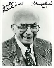 Sherwood Schwartz Autograph Gilligans Island & Brady Bunch Creator Signed Photo