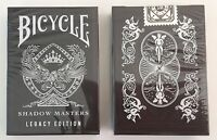 Bicycle Ellusionist Shadow Masters Legacy Edition US Playing Cards Magic Poker