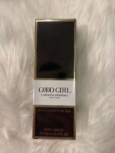 Good Girl Carolina Herrera New York Body Cream 3.4 Fl Oz