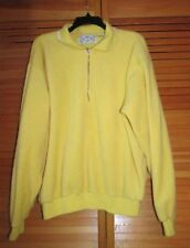 SDI Famous Quality long sleeve fleece Medium (Runs big?) Men? Women? Yellow used