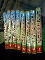 enciclopedi 8 volumi NEL MERAVIGLIOSO MONDO DEGLI ANIMALI
