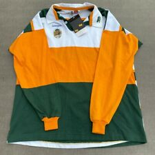 Vintage 90's Brand New Wallabies Australian Schweppes Rugby Polo Long Sleeve XXL