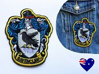 Harry Potter Ravenclaw Crest - Iron On Patch Embroidered Badge Cosplay Costume