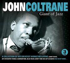 John Coltrane-Giant of Jazz 3 CD NUOVO