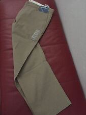 MEN'S DOCKERS BROKEN IN KHAKI PANTS  FIT STRAIGHT 38W 32L NEW SEE ALL 3 PICTURES