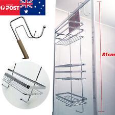 3 Tier Bathroom Accessories Shower Caddy hooks Rack Chrome Bath Shelf Storage