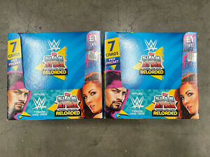 2 boxs  Topps WWE SLAM ATTAX RELOADED
