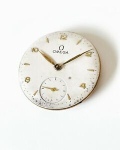 1946 OMEGA CAL. 30T2 MOVEMENT, DIAL & HANDS (WORKING)