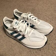 Adidas Forest Grove Originals Men's Shoe US Size 10 White Green ART b41546