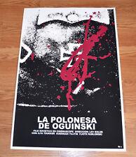 "24x36"" Cuban movie Poster 4 film Oguinski Polonaise art.Cerebral.red.LAST 1"
