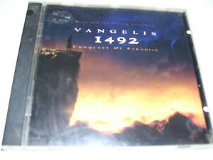 Vangelis - 1492 conquest of paradise * CD UK 1992