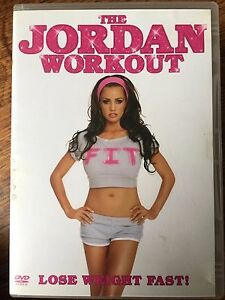 The Jordan Workout DVD Exercise Keep Fit Routine with Katie Price